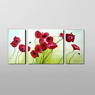 Hand-Painted Flower Oil Painting Wall Art Ready to Hang Stretched Frame