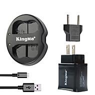 kingma dual USB punjač za Nikon baterije i Nikon D7000 D7100 / 1v1 / D600 / d600e / D600 sa usb adapter utikača snage