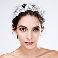 Women's Lace / Crystal / Acrylic Headpiece-Wedding / Special Occasion Flowers 1 Piece