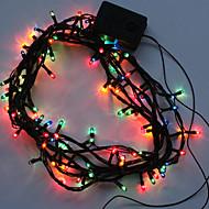 halloween zásoby dekorace stran barevné řetězec světla dekorace (4,2 m)