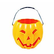 1pc Halloween Kürbis kleines Nachtlicht leuchtende Kürbis Halloween-Kürbis Licht dekoriert