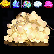 10m levou-100 plugue impermeável ao ar livre do feriado do Natal luz decoração seqüência luz led (220v)