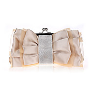 Women Lace Bowknot Silk / Chiffon / Satin Formal / Event/Party / Wedding Evening Bag