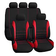 מושב המכונית autoyouth מכסה מושבים סט בכושר אוניברסלי עבור מכוניות crossovers אוטומטי אביזרים פנים עבור טיפוח לרכב