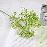 "1 Branch 1 ענף סיליקה ג'ל צמחים פרחים לשולחן פרחים מלאכותיים Total Length:18.6"""