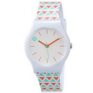 Kids' Wrist watch Colorful Quartz Plastic Band Candy color Cool Casual Orange Strap Watch