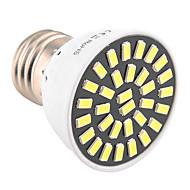 7W E26/E27 Spot LED T 32 SMD 5733 500-700 lm Blanc Chaud / Blanc Froid Décorative AC 100-240 / AC 110-130 V 1 pièce