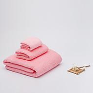 BZHOMEQuilted Cotton Towels Cotton Towel Sets Combination 3Pcs/Set