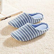 Modern/Contemporary Striped Anti-slip Slide Slippers Men's  Indoor Slippers Free Size Blue / Gray
