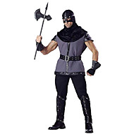 Costumes More Costumes Halloween Black / Gray Solid Terylene Top / Pants / More Accessories