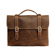 Men Cowhide Casual / Office & Career Shoulder Bag Brown