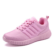 Women's Athletic Shoes Others Leather Athletic / Casual Lace-up Black / Pink / Red Running / Others / Sneaker