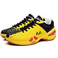 Men's Athletic Shoes Fall Comfort Leather Athletic Platform Lace-up Yellow / Purple / Orange Badminton / Tennis