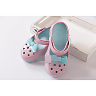 Girl's Sandals Summer Comfort Rubber Casual Flat Heel Bowknot Blue Pink Purple Coral Royal Blue Others