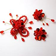Polvera(Rojo) -tema de la vendimia-Personalizado 10*5*2cm