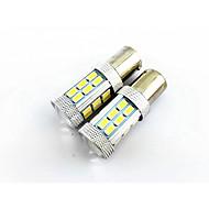 2ks 1156 (BA15s) 27 SMD 4W 1500lm široký napětí světla auta, zpětný světlomet, koncové světlo (10-24V)
