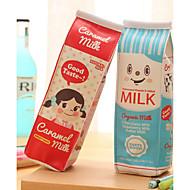 Süt karton tasarım tekstil kalem çantası