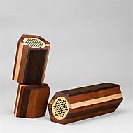 Mudu bluetooth puhuja 4 erilaista puhdasta massiivipuuta ääni autoradion