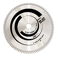 alliage multi-fonctions lame de scie circulaire (10 pouces * 100 dents (bois et aluminium en plastique multi))