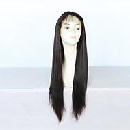 hedvábně rovné 100% čerstvých brazilské lidské vlasy krajka přední paruky pro černé ženy s dítětem vlasy