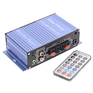 Amplificador Portable Hi-Fi Stereo Output Card Power Amplifier USB / SD Card Player