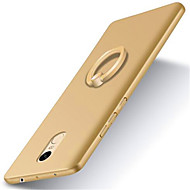 Varten Mi kotelo Tuella Sormuksen pidike Himmeä Etui Takakuori Etui Yksivärinen Kova PC varten XiaomiXiaomi Redmi 4X Xiaomi Redmi Note 4