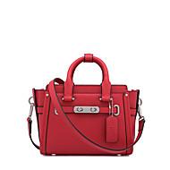 LaFestin Women Cowhide Shoulder Bag Beige / Pink / Red / Gray / Black / Champagne-618623