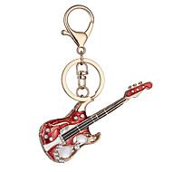 Η Ευρώπη και οι Ηνωμένες Πολιτείες νέο ρεαλιστικό κλειδί κιθάρα κλειδί αλυσίδα τσάντα αυτοκίνητο κλειδί κρεμαστό κόσμημα του Αγίου