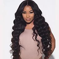 8 כדי 22 אינץ ברזילאית אדם שיער גל רופף פאות 4.5 פאות חזית תחרת glueless עמוק חלקות עבור נשים שחורות