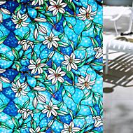 Květiny Moderní Fólie na okna,PVC/Vinil Materiál dekorace oken
