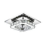 8W 플러쉬 마운트 ,  컴템포러리 / 모던 일렉트로플레이티드 특색 for LED 금속 침실 / 주방 / 현관