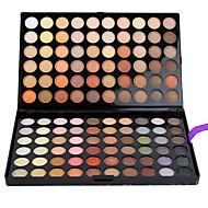 120 Paleta de Sombras Mate / Brilho Paleta da sombra Creme Grande Maquiagem para o Dia A Dia
