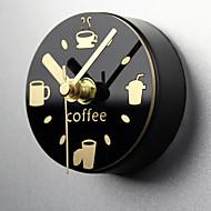 kreativ veggur fritid klokken kjøleskap magneter melding postet uttak watch kjøleskap magnet mute vekkerklokke