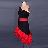 Cosplay Kostüme / Party Kostüme Cosplay Fest/Feiertage Halloween Kostüme Rot / Fuchsie Spitze Kleid Halloween / Weihnachten / Karneval