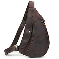 Men Cowhide Sports / Casual / Outdoor Sling Shoulder Bags