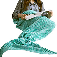 1枚 旅行用ブランケット 保温 洗濯可 のために 女性 旅行用睡眠グッズ アクリル-パープル レッド グリーン ピンク
