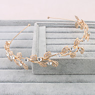 Dame Imiteret Perle Medaljon-Bryllup Speciel Lejlighed Afslappet Udendørs Diademer 1 Stykke