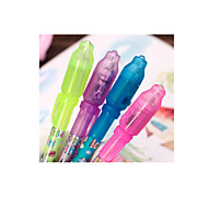 Funny Pen With Lamp. A Pack Of Ten