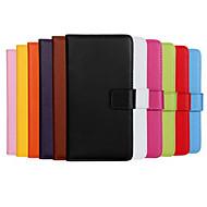 iPhone 4 / 4S用、贅沢ultralスリムソリッドカラーの本革ケースfun®ココ