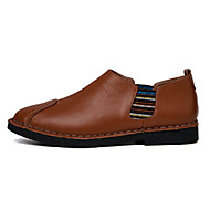 Men's Oxfords Spring / Summer / Fall / Winter Comfort PU / Microfibre Wedding / Office & Career / Party & Evening / Casual Flat HeelSplit