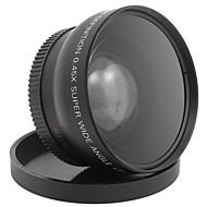 52MM 0.45x Wide Angle Lens  Macro Lens for Cannon D5000 D5100 D3100 D7000 D3200 D80 D90 DSLR Camera