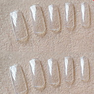 manicure groothandel korea 500 stuks van transparante volledige transparante plakken een stuk valse nagel