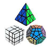 Shengshou® Smooth Speed Cube pyraminx Alien Megaminx Spiegel professioneel niveau Magische kubussen Zwart Fade gladde StickerAnti-pop