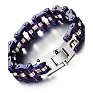 Kalen New Unisex Bike Chain Bracelet Cool Biker Bicycle Chain Men's Bracelet Fashion 316L Stainless Steel Hand Chains