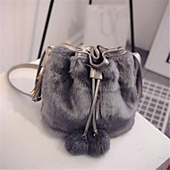 Women Suede Casual / Outdoor Shoulder Bag