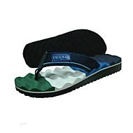 Γυναικεία παπούτσια-Παντόφλες & flip-flops-Καθημερινά-Επίπεδο Τακούνι-Scuff-Συνθετικό-Μαύρο / Μπλε / Μπορντώ