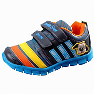 Unisex Athletic Shoes Spring / Summer / Fall / Winter Round Toe Tulle Athletic Flat Heel Others / Hook & Loop Blue