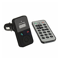 kit mãos livres Bluetooth fm transmissor sem fio usb sd transmetteur Bluetooth voiture mp3 microfone com controle remoto