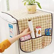 Refrigerator Cover Table Storage Cloth Easy Use (Random Colours)