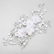 Women's Rhinestone / Imitation Pearl / Chiffon Headpiece-Wedding / Special Occasion Flowers 1 Piece
